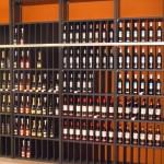 scaffale vino